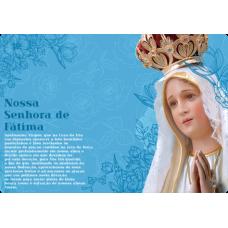 Mousepad Personalizado - Religioso - 03 - Nossa Senhora de Fátima
