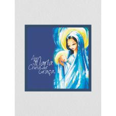 Quadro religioso 07 - Ave Maria Cheia de Graça