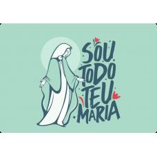 Mousepad Personalizado - Religioso - 08 - Sou todo teu Maria