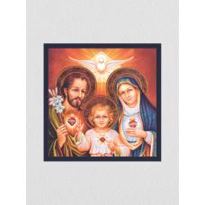Quadro religioso 104 - Sagrada Família