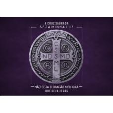 Mousepad Personalizado - Religioso - 11 - São Bento