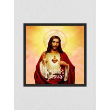 Quadro religioso 115 - Sagrado Coração de Jesus