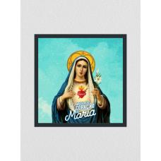 Quadro religioso 116 - Imaculado coração de Maria
