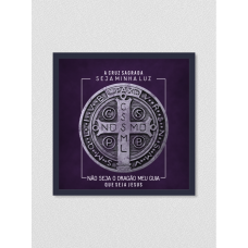 Quadro religioso 147 - Medalha São Bento