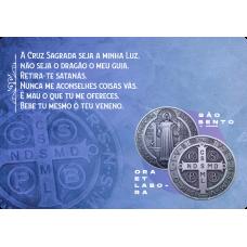 Mousepad Personalizado - Religioso - 15 - São Bento