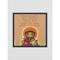 Quadro religioso 15 - São Francisco