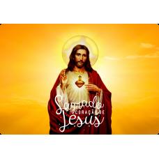 Mousepad Personalizado - Religioso - 17 - Sagrado Coração