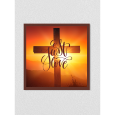 Quadro religioso 174 - Just Love