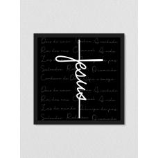 Quadro religioso 186 - Jesus Cruz
