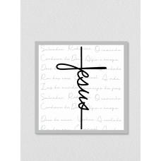 Quadro religioso 187 - Jesus Cruz