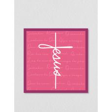 Quadro religioso 188 - Jesus Cruz