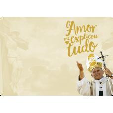 Mousepad Personalizado - Religioso - 19 - Papa João Paulo II