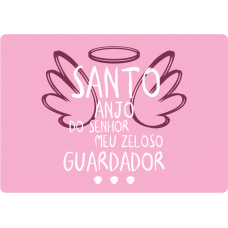 Mousepad Personalizado - Religioso - 28 - Santo Anjo do Senhor