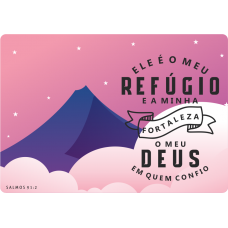 Mousepad Personalizado - Religioso - 30 - Salmos 91