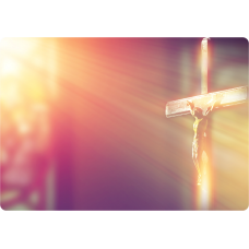 Mousepad Personalizado - Religioso - 45 - Cruz
