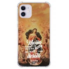 Capinha para celular - Alvaro E Daniel 01 - Maria Cuida Da Gente