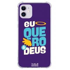 Capinha para celular - Dj Ale 10 Eu Quero Deus