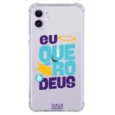 Capinha para celular - Dj Ale 11 - Eu Quero Deus
