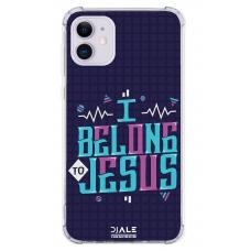 Capinha para celular - Dj Ale 08 I Belong Jesus