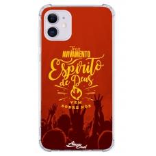 Capinha para celular - Aline Brasil 03 - Tras Avivamento Espírito De Deus