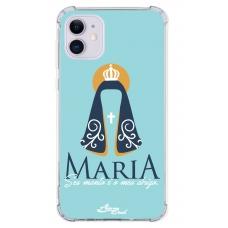 Capinha para celular - Aline Brasil 15 - Maria seu manto é meu abrigo