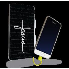 Carregador Portátil - Religião 186 - Jesus