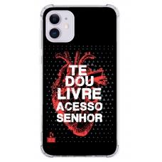 Capinha para celular - Diego Fernandes 13 - Te Dou Livre Acesso