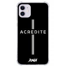 Capinha para celular - Dunga 10 - Acredite (Cruz 02)