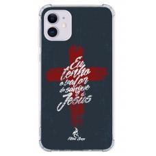 Capinha para celular - Fatima Souza 04 - Eu tenho o valor do Sangue de Jesus
