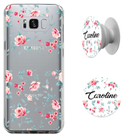 Kit Capinha com Pop-selfie - Flores 02
