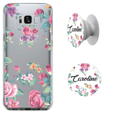 Kit Capinha com Pop-selfie - Flores 03