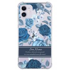 Capinha para celular - Personalizada com nome - Flores 15