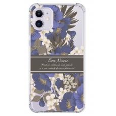 Capinha para celular - Personalizada com nome - Flores 16