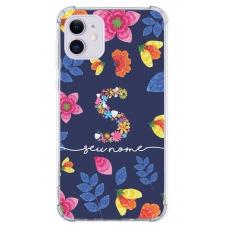 Capinha para celular - Personalizada com nome - Flores 20