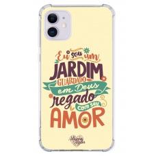 Capinha para celular - Adriana Arydes 08 - Eu Sou Um Jardim Guardado Em Deus
