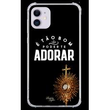 Capinha para celular - Adriana Arydes 10 - E Tao Bom Poder Te Adorar
