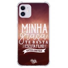 Capinha para celular - Adriana Arydes 14 - Minha Graca Te Basta