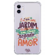 Capinha para celular - Adriana Arydes 09 - Eu Sou Um Jardim Guardado Em Deus