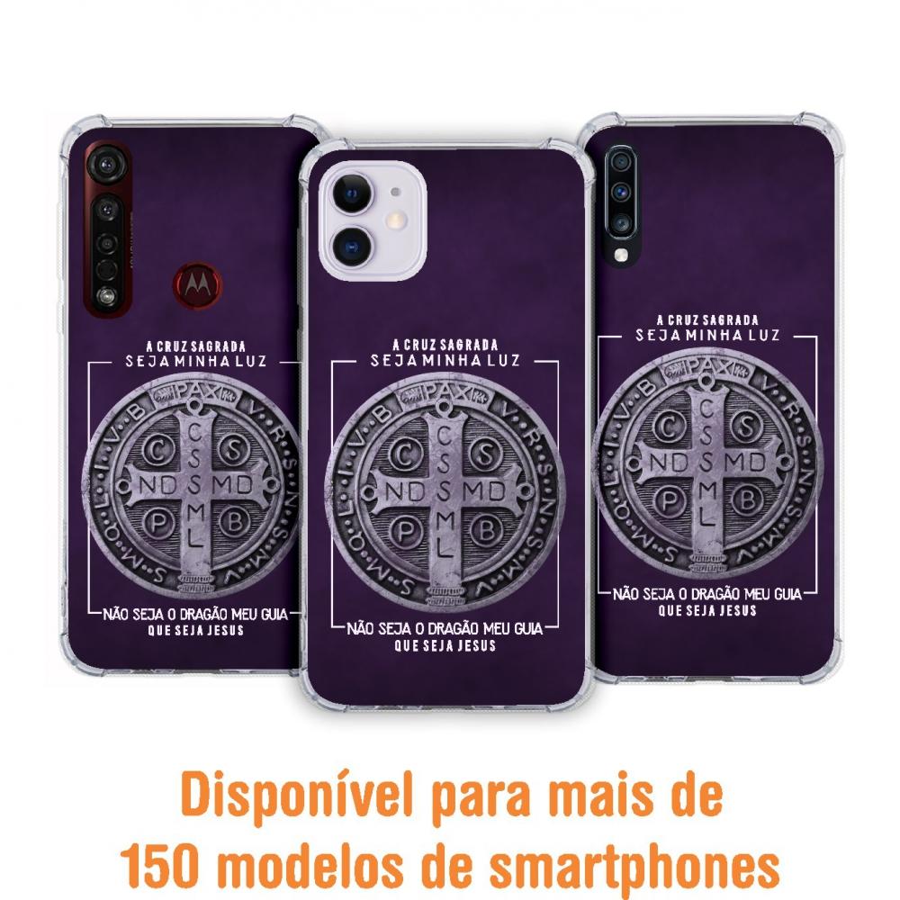 Capinha para celular - Religiosa 147 - Medalha de São Bento