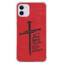 Capinha para celular - Religiosa 158 - Foi Por Mim