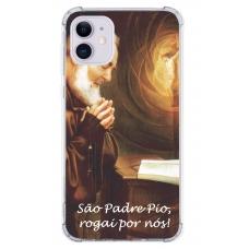 Capinha para celular - Religiosa 105 - Padre Pio