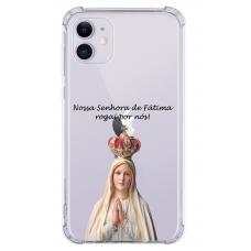 Capinha para celular - Religiosa 106 - Nossa Senhora Fátima