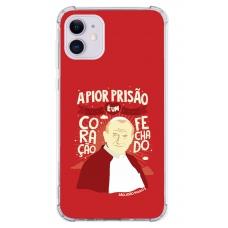 Capinha para celular - Religiosa 111 - A Pior Prisão É Um Coração Fechado - João Paulo II