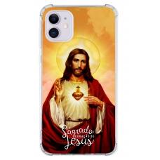 Capinha para celular - Religiosa 115 - Sagrado Coração de Jesus