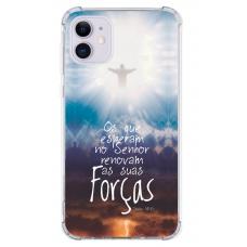 Capinha para celular - Religiosa 12 - Os que esperam no Senhor