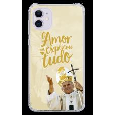 Capinha para celular - Religiosa 129 - O amor tudo me explicou - João Paulo II