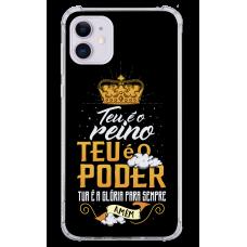 Capinha para celular - Religiosa 164 - Teu é o reino, o poder e a glória