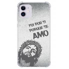 Capinha para celular - Religiosa 17 - Foi Por Ti Porque Te Amo