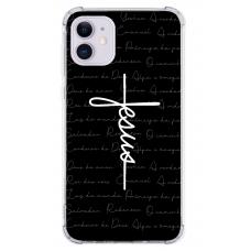 Capinha para celular - Religiosa 186 - Capinha Jesus estilo cruz