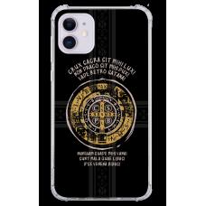 Capinha para celular - Religiosa 207 Latim - Medalha de São Bento